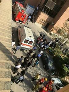 سقوط آسانسور در دانشگاه شریف
