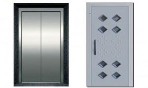 استاندارد آسانسور درب کابین آسانسور