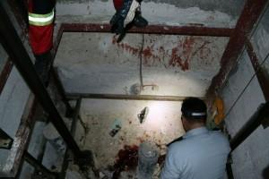 سقوط آسانسور مسکن مهر