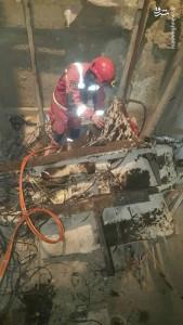 حادثه آسانسور در چیتگر