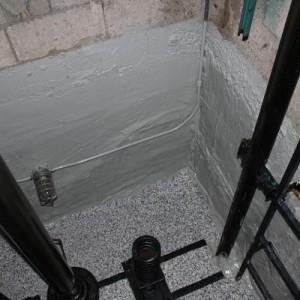 استاندارد آسانسور - چاهک آسانسور