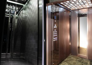 استاندارد آسانسور - کابین آسانسور