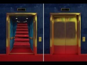 پله یا آسانسور کدام امن است