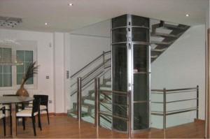 آسانسورهای پاناروما در خانههای دوبلکس