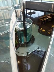 آسانسور پانورامای شیک